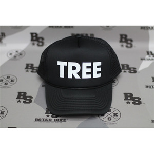 TREE Trucker Hat Black