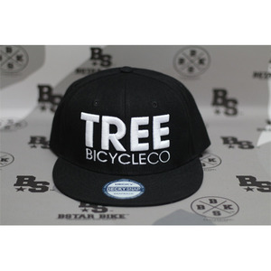 TREE SnapBack Hat Black