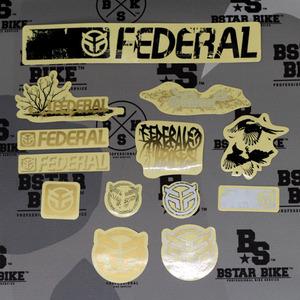 FEDERAL Sticker Pack