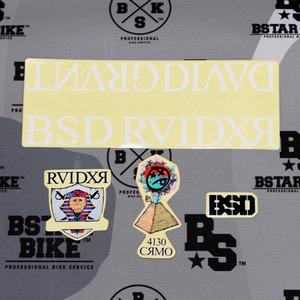 BSD RAIDER Sticker Pack