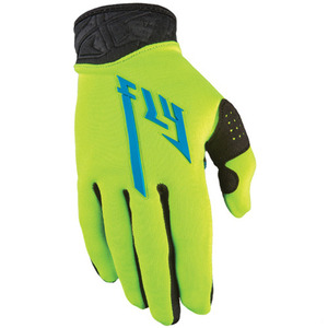 Fly Racing Pro Lite Gloves Yellow/Black -3 Size-