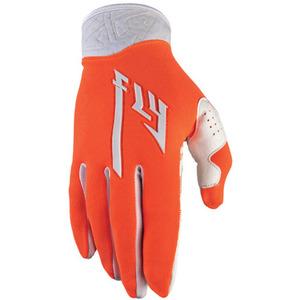 Fly Racing Pro Lite Gloves Orange/White -2 Size-