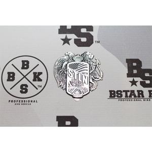 Stolen Family Crest Badge FlatType -Silver-