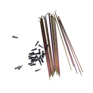 COLONY Stainless Steel Spokes Rainbow -2 Size-