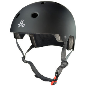 TRIPLE EIGHT Brainsaver Dual Certified Black Rubber